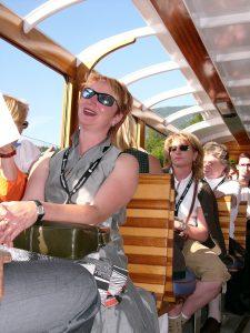 Auf dem Boot nach St. Bartholomä