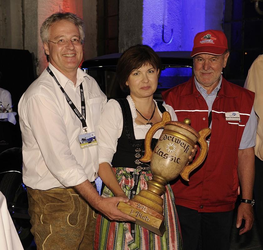 EdelweißClassic 2014 | Bertl Gschwendtner und die stolzen Sieger der EdelweißClassic 2014