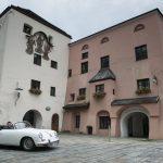 … ebenso wie die Kulisse. Hier unterwegs in der Altstadt von Burghausen.