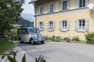 Opel Blitz am ehemaligen Grenzübergang nach Österreich