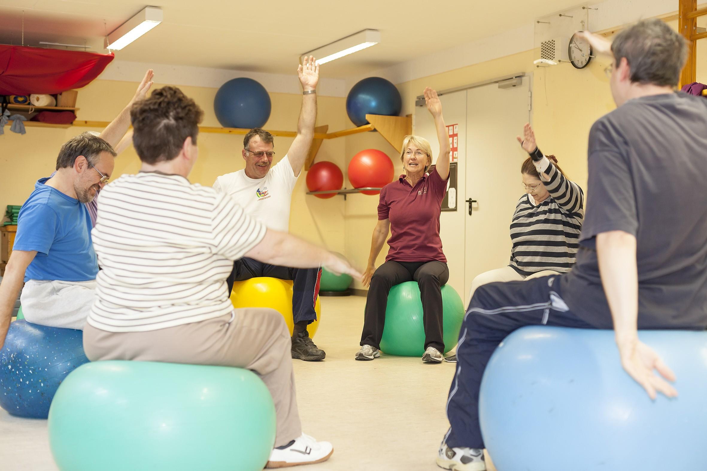 EdelweißClassic | Spendenprojekt 2019: Arbeits-, Rückzugs- und Bewegungsraum für die Lebenshilfe Piding. Standfest + fit Gymnastik